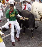 Gonitwa byków. Dwie osoby zostały ranne