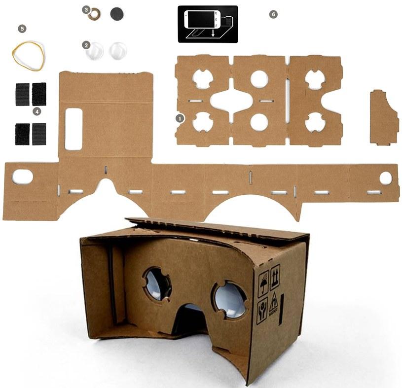Google Cardboard w połączeniu ze smartfonem daje przedsmak tego, co wkrótce może stać się normą /materiały prasowe