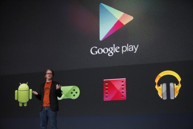 Google Play uzyskało wynik 25 mld pobrań /AFP