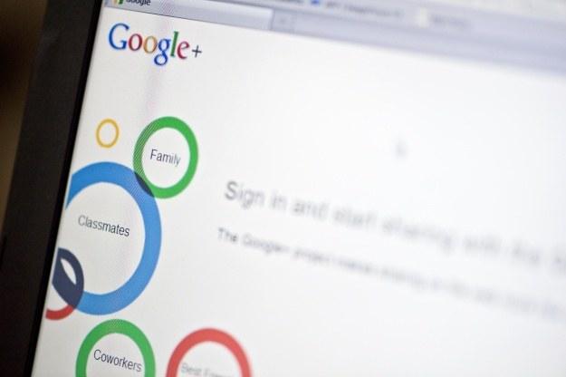 Google Plus ma już dwa lata /AFP