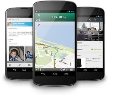 Google pokazało smartfon Nexus 4, tablet Nexus 10 i Androida 4.2