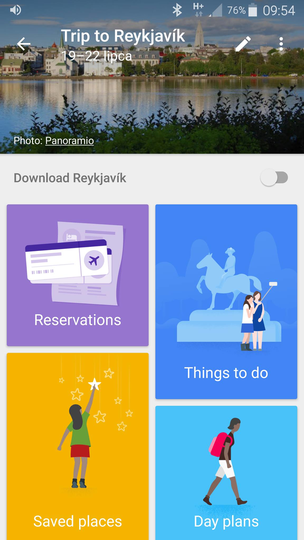 Google Trips /INTERIA.PL