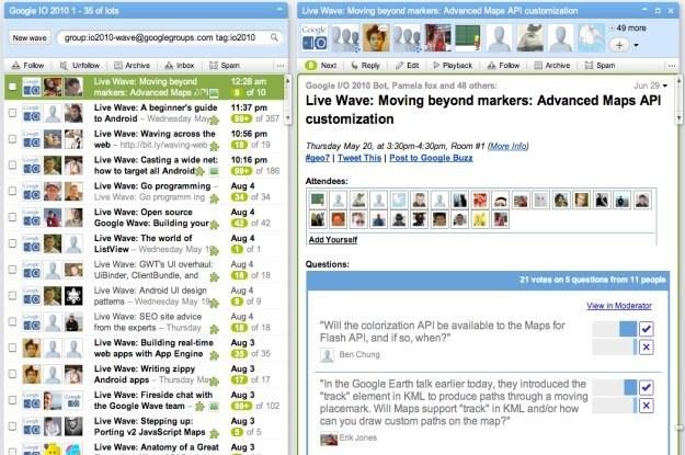 Google Wave - pomysł był dobry, ale nie wszyscy zrozumieli jego przeznaczenie /HeiseOnline