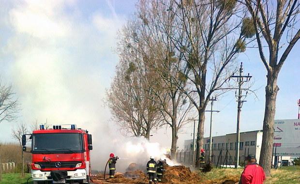 """Gorąca Linia: Pożar ciężarówki ze słomą, zablokowana """"S5"""""""