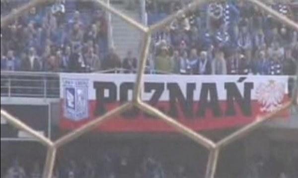 Gorące trybuny na stadionie Lecha. /INTERIA.PL