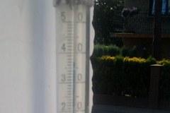 Gorąco, goręcej, upał! Mamy Wasze zdjęcia termometrów z całej Polski