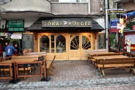 Góral Burger w Zakopanem.