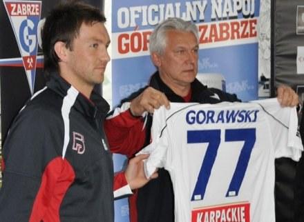 Gorawski zagra w Górniku z numerem 77 /www.gornikzabrze.pl