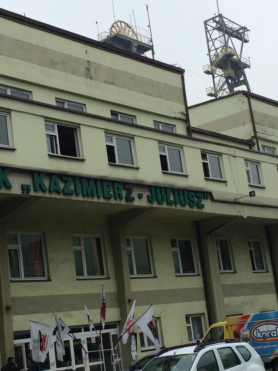Górnicy nie wyjechali rano na powierzchnię /Marcin Buczek /RMF FM