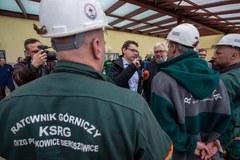 """Górnicy z kopalni """"Rudna"""" są już bezpieczni"""