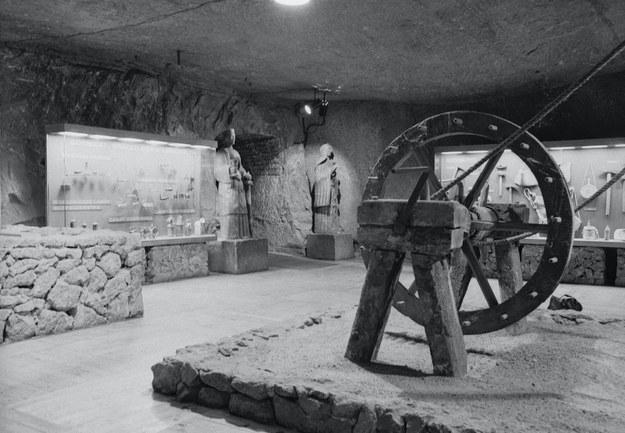 Górnicza ekspozycja Muzeum w 1966 roku, fot. Henryk Hermanowicz, Muzeum Żup Krakowskich Wieliczka /materiały prasowe