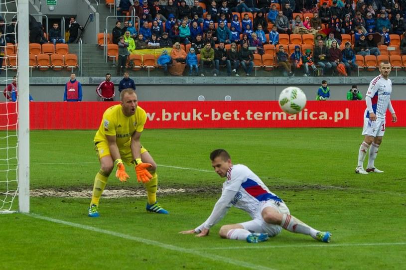 Górnik Zabrze pokonał GKS Tychy 1-0 /East News