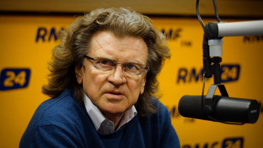 Gość Krzysztofa Ziemca w RMF FM Zbigniew Wodecki /Michał Dukaczewski /RMF FM