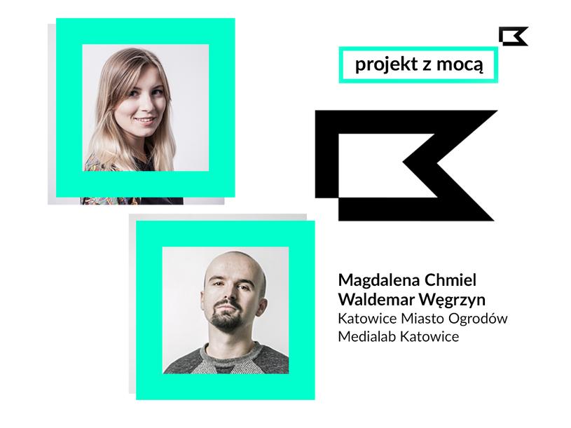 Gośćmi Mocy Miejsca będą m.in. Magdalena Chmiel i Waldemar Węgrzyn /materiały prasowe