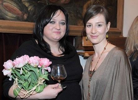 Gosia Baczyńska i Maja Ostaszewska/fot. Andrzej Szilagyi /MWMedia