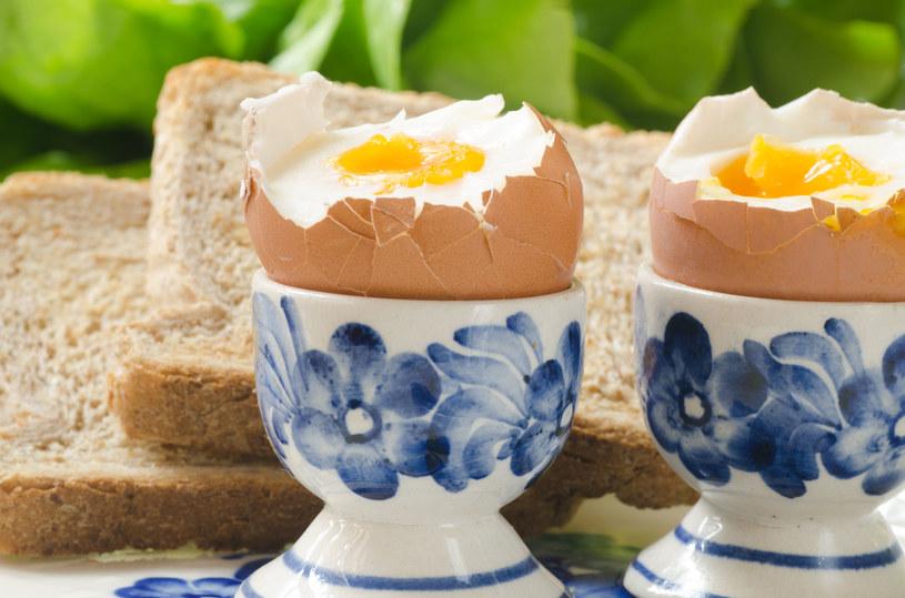 Gotowane jajka są idealną propozycją śniadaniową /©123RF/PICSEL