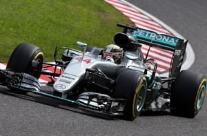 GP Japonii: Pierwszy trening dla Mercedesa