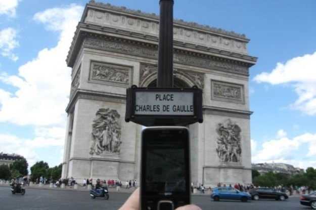 GPS w komórce - dla pieszych to naprawdę fantastyczny doradca /INTERIA.PL