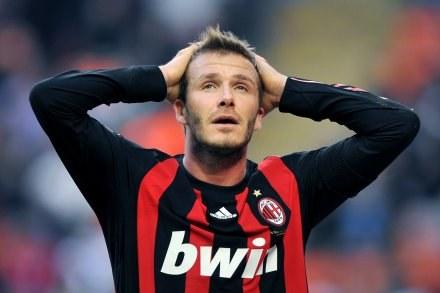Gra w Europie służy Beckhamowi /AFP