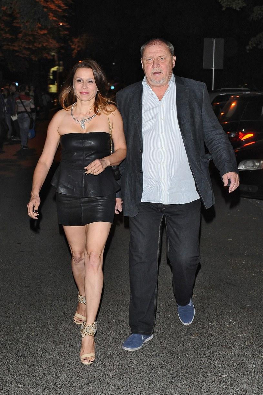 Grabowski z żoną kilka lat temu /- /East News