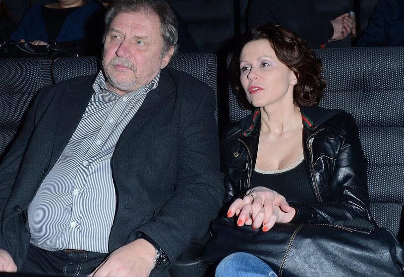 Grabowski z żoną /- /East News