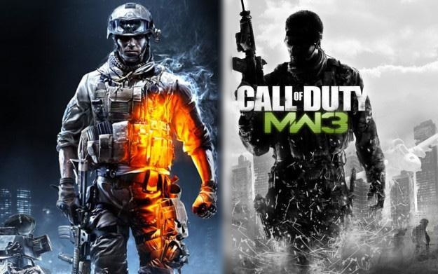 Gracze wolą grać w Modern Warfare 3 niż Battlefield 3 /Informacja prasowa