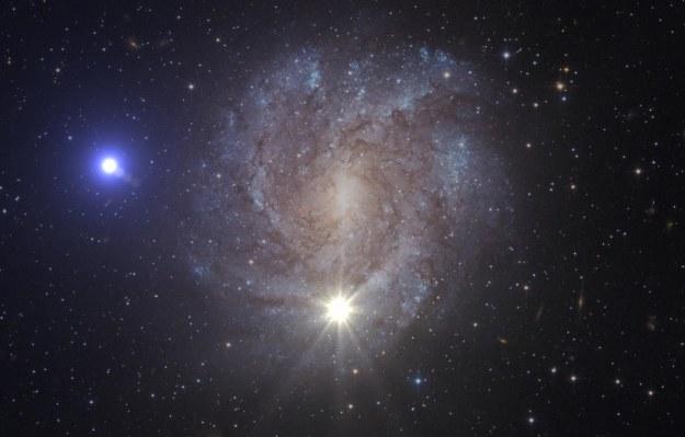 Grafika ilustrująca to niezwykłe zjawisko. Fot. ESA/HUBBLE, NASA, S. GEIER /NASA