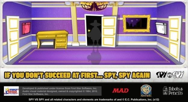 Grafika zwiastująca nową odsłonę serii Spy Vs Spy? /Informacja prasowa