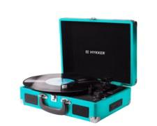 Gramofon Vintage Sound oraz głośnik LED Fantasy marki Hykker w Biedronce