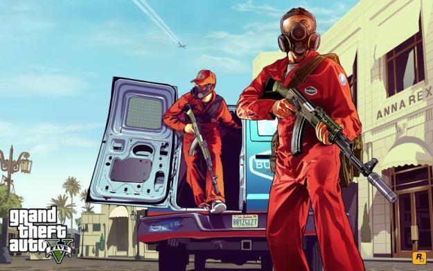 Grand Theft Auto V - motyw graficzny /Informacja prasowa