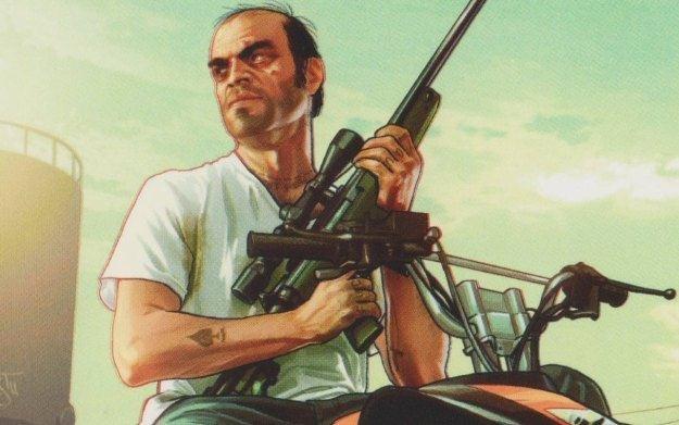 Grand Theft Auto V - motyw graficzny /CDA