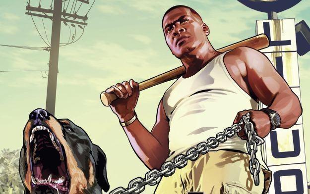 Grand Theft Auto V - motyw graficzny /