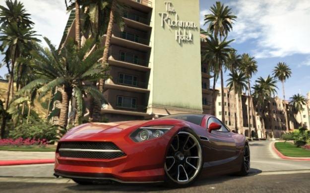 Grand Theft Auto V - motyw graficzny /materiały prasowe