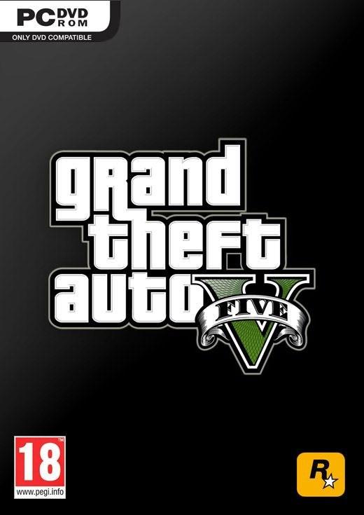 Grand Theft Auto V - tymczasowa okładka wersji PC /