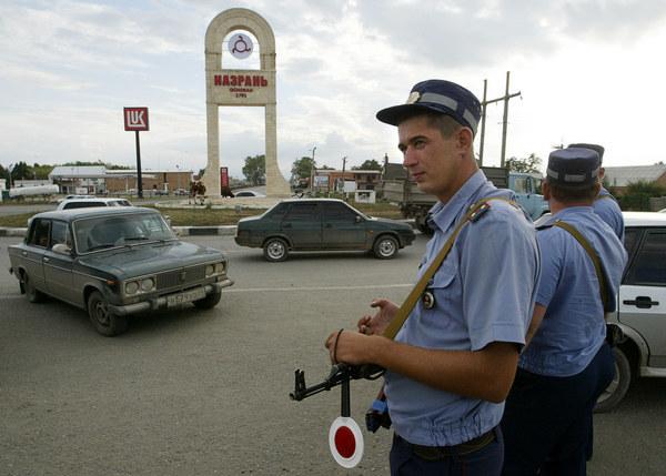 Granica czeczeńsko-inguska /AFP