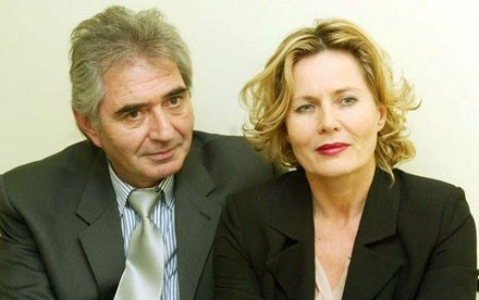 Grażyna Szapołowska i Eric Stępniewski, fot. Michał Szalast /Agencja SE/East News