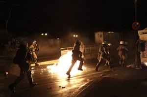Grecja: Zamieszki w Atenach na placu Syntagma