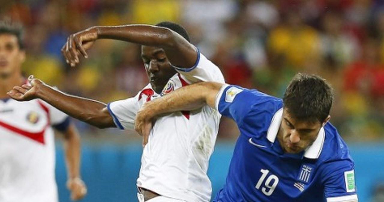 Grecy jadą do domu, Kostaryka w ćwierćfinale