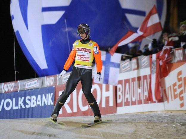 Gregor Schlierenzauer, skoczek z Austrii. /AFP