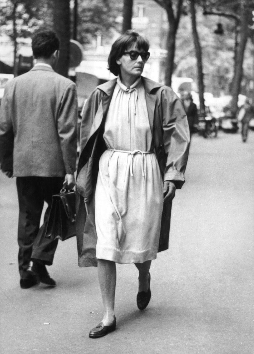 Greta Garbo w Paryżu w 1958 roku /Keystone/Hulton Archive /Getty Images