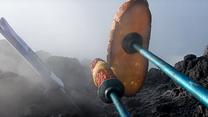 Grillowanie na wulkanie. Tak się piecze kiełbaskę na Etnie