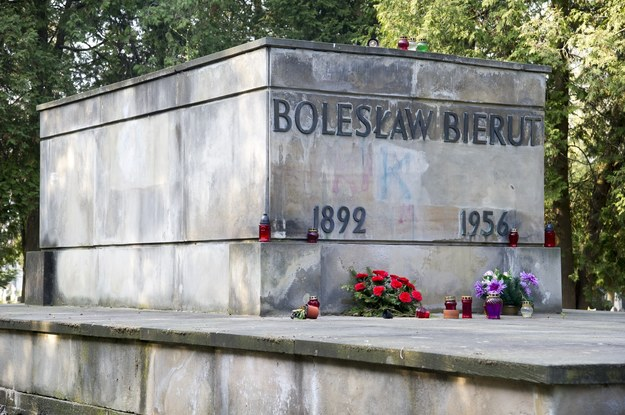 Grób Bolesława Bieruta na Powązkach /Wojciech Stróżyk /Reporter