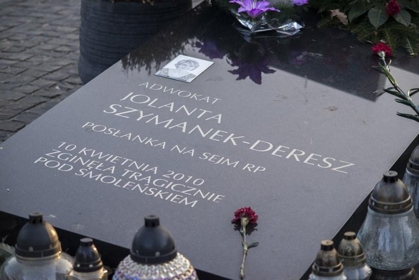 Grób Jolanty Szymanek-Deresz /Jakub Wosik  /East News