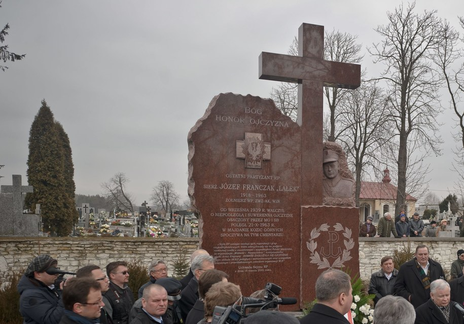Grób Józefa Franczaka /PAP/Wojciech Pacewicz /PAP