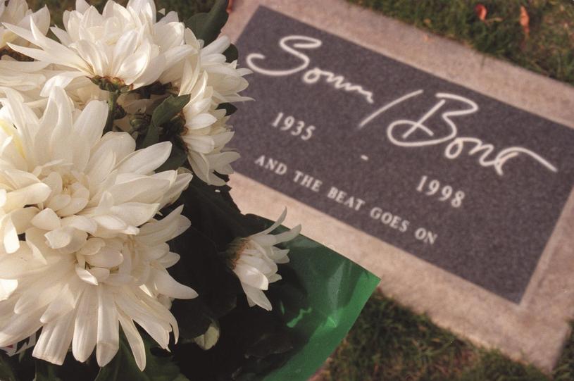 Grób Sonny'ego Bono /Dave Luchansky /East News