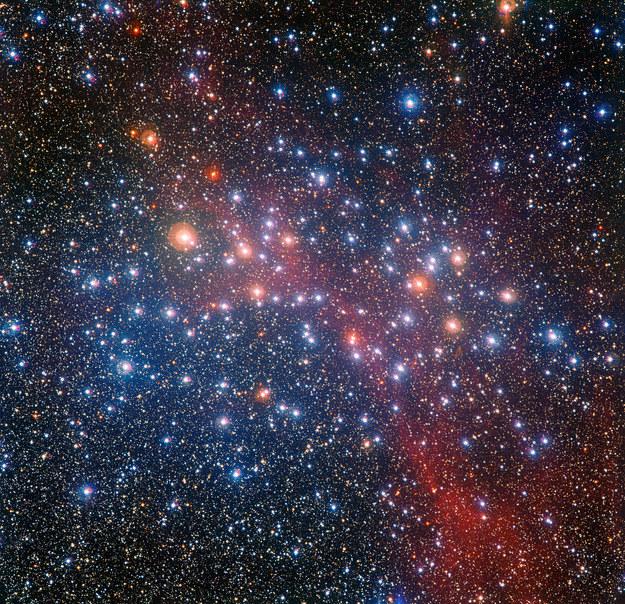 Gromada NGC 3532. Źródło: ESO/G. Beccari /materiały prasowe