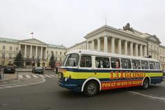 Gronkobus wyruszy na ulice Warszawy