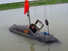 Groszowe sprawy: Sam skonstruował łódź podwodną