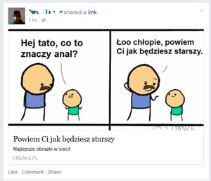 Groźne sekspytania na Facebooku