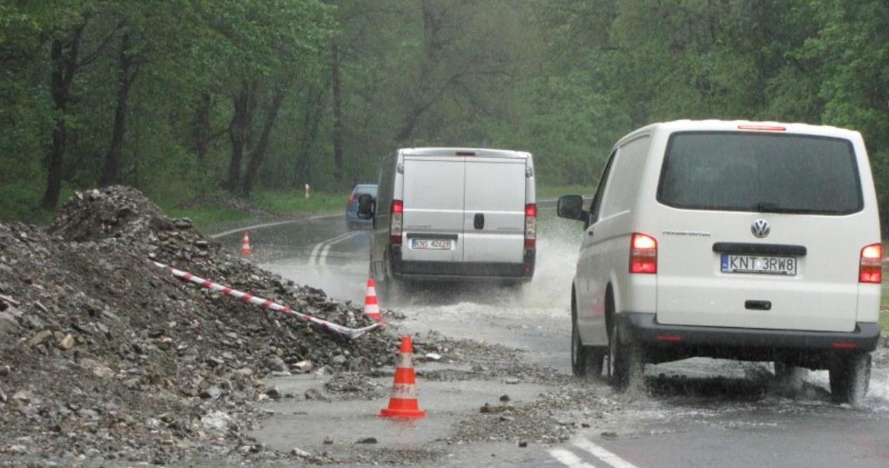 Groźny Dunajec w Szczawnicy i Krościenku